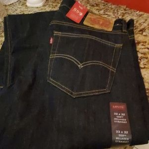 LEVI'S 559 RELAXED STRAIGHT 33X32 NEW